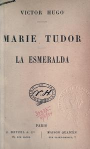 Cover of: Marie Tudor