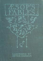 Cover of: Æsop's fables