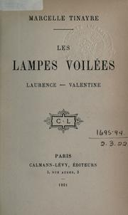 Cover of: Les lampes voilées