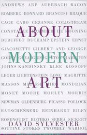 Cover of: About Modern Art