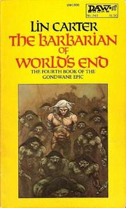 Cover of: Barbarian of World's End