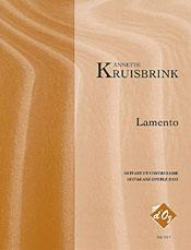 Cover of: Lamento (double bass & guitar) | Annette Kruisbrink