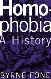 Cover of: Homophobia | Byrne R. S. Fone