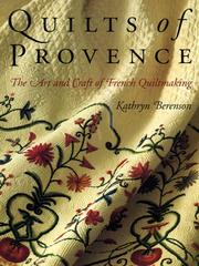 Cover of: Quilts of Provence