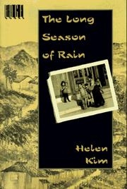 Cover of: The long season of rain