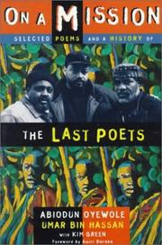 Cover of: The Last Poets on a mission