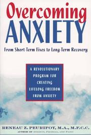 Cover of: Overcoming Anxiety