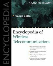 Cover of: Encyclopedia of Wireless Telecommunications