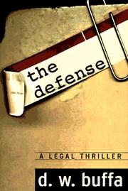 Cover of: The defense | Dudley W. Buffa