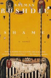 Cover of: Shame: A Novel
