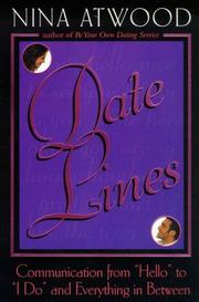 Cover of: Date lines | Nina Atwood
