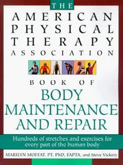 Cover of: Book of body maintenance and repair