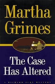 Cover of: The case has altered