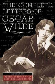 Cover of: The complete letters of Oscar Wilde