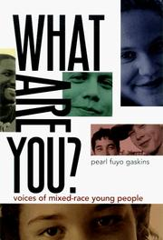 Cover of: What Are You?