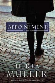 Cover of: The appointment | Herta MГјller