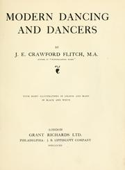 Cover of: Modern dancing and dancers
