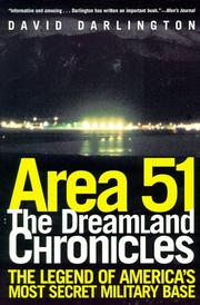 Cover of: Area 51 | David Darlington
