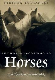 Cover of: The World According to Horses