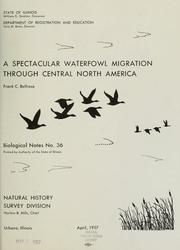 Cover of: A spectacular waterfowl migration through central North America