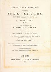 Narrative of an expedition to explore the river Zaire by James Hingston Tuckey