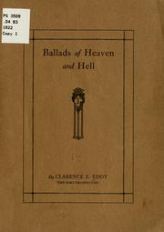 Cover of: Ballads of heaven and hell