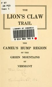 Cover of: The Lion's claw trail