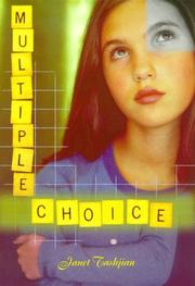 Cover of: Multiple choice