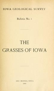 Cover of: The grasses of Iowa