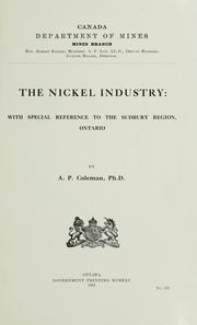 Cover of: The nickel industry