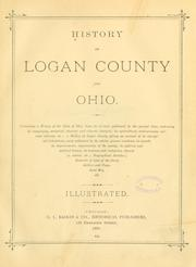 Cover of: History of Logan County and Ohio |