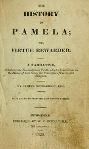 the issue of virtue in richardsons pamela Firms such as richardsons,  including those who might have contracted mesothelioma by virtue of washing their partner's  pamela.