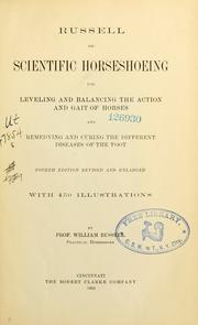 Cover of: Russell on scientific horseshoeing