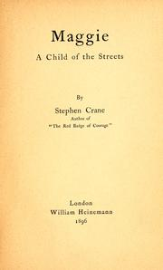 Cover of: Maggie, a child of the streets