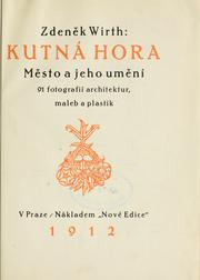 Cover of: Kutná Hora