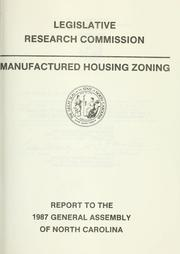 Manufactured housing zoning