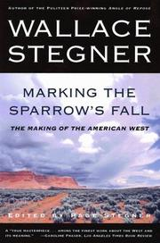 Cover of: Marking the sparrow's fall