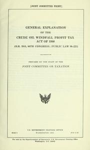 what is a windfall profit tax