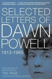 Cover of: Selected Letters of Dawn Powell  | Dawn Powell