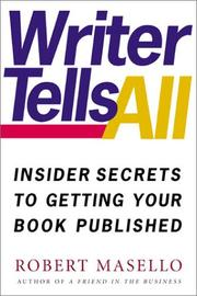 Cover of: Writer tells all