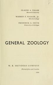 Cover of: General zoology