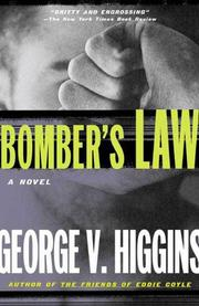 Cover of: Bomber's Law