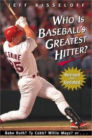 Cover of: Who is baseball's greatest hitter?
