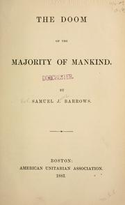 Cover of: The doom of the majority of mankind