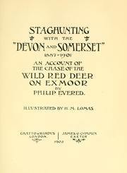 "Staghunting, with the ""Devon and Somerset,"" 1887-1901 by Philip Evered"