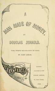 Cover of: A man made of money