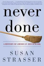 Cover of: Never done