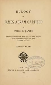Cover of: Eulogy on James Abram Garfield