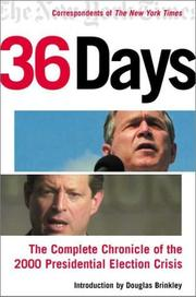 Cover of: 36 days