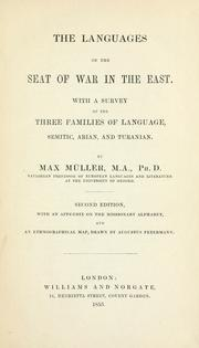 Cover of: The languages of the seat of war in the east